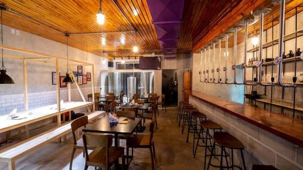 Vista da sala - Donkey Head Cervejaria e Gastropub, Fortaleza