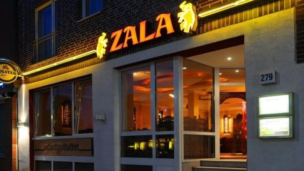 Fassade - Zala Restaurant Wandsbek, Hamburg