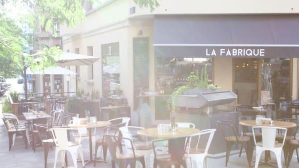 Terrasse - Bistrot La Fabrique, Genève