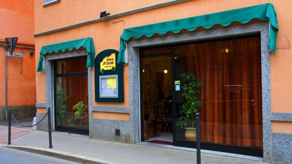 Entrata - Osteria Il Cortile, Samarate