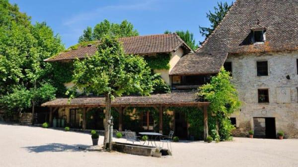 Le restaurant - Le Moulin d'Arche, Bouvesse-Quirieu