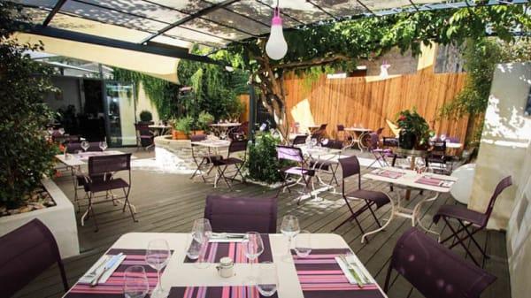 salle/terrasse - Les Gourmands, Montpellier