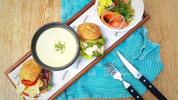 Lunchplankje - Het Burgerhuys, Oisterwijk