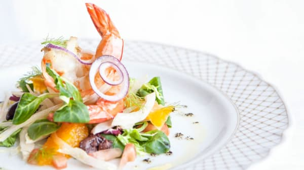 Salada de Camarão com Laranja - Il Gattopardo, Lisbon