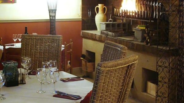 Vue de la salle - Histoire Gourmande, Carcassonne
