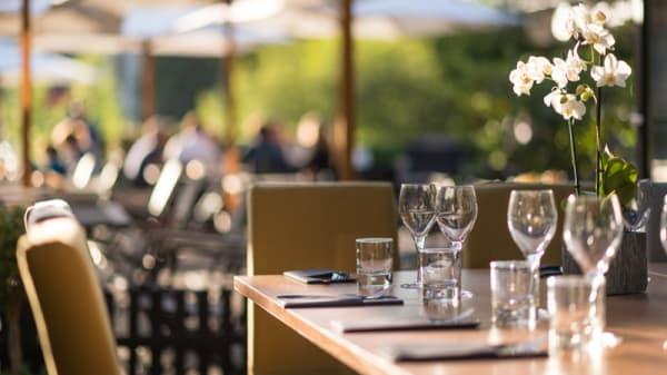 Table dressée - Le Vegetarium, La Gacilly
