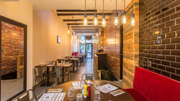 Vue de la salle - Eat Burger, Amiens