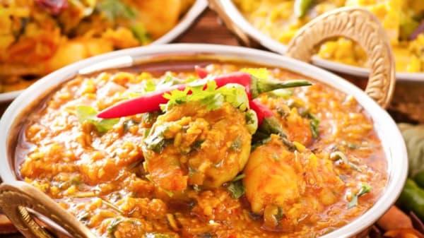 Plat - Restaurant Kashmir, Vevey