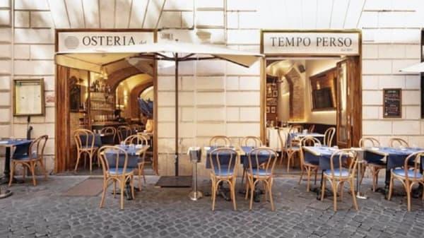 Osteria del Tempo Perso, Roma