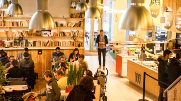 Salle - Café Perché, Lyon