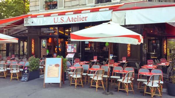 Devanture - US Ateliers, Paris