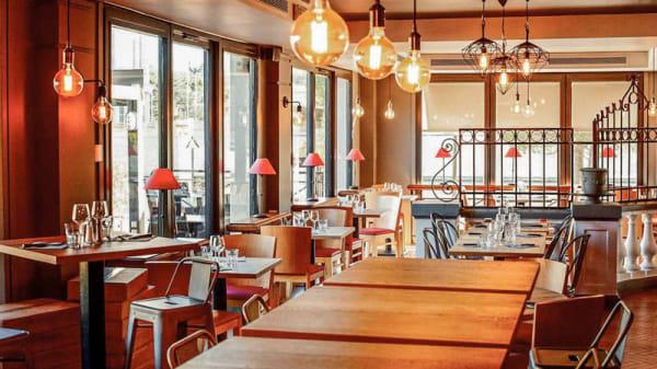 Salle du restaurant - Pizza Papa - Montpellier Antigone, Montpellier