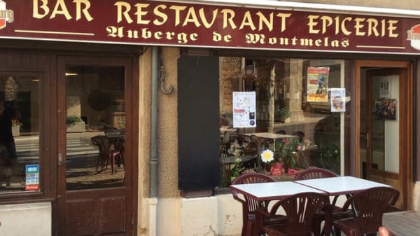 Entrée - Auberge de Montmelas, Montmelas-Saint-Sorlin
