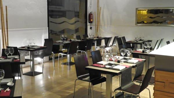 Sala del restaurante - Sushiteka, Rubi