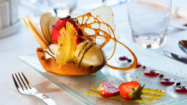 Dessert - Le Maupassant, Rouen