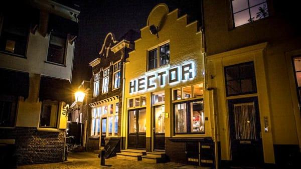 Ingang - Restaurant Hector, Goes