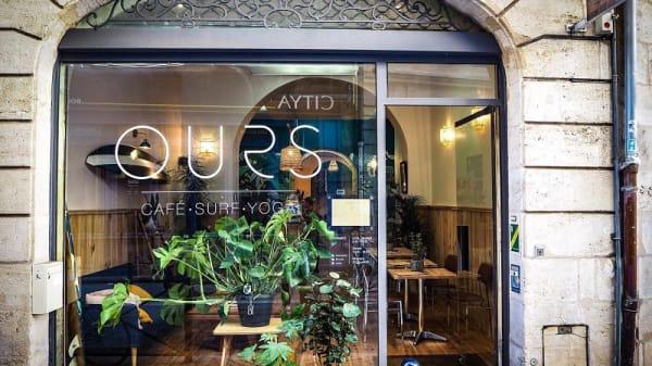 Entrée - Café Ours, Bordeaux