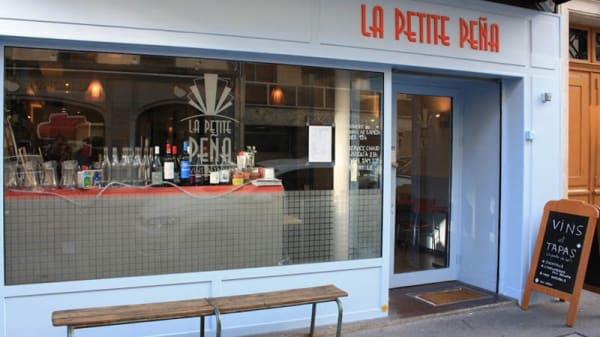 Entrée - La Petite Pena, Paris