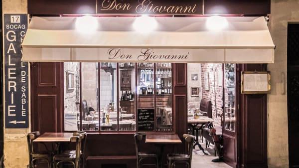 Devanture Soir - Don Giovanni, Paris