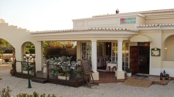 Fachada - Brasserie Rosal, Armação de Pêra