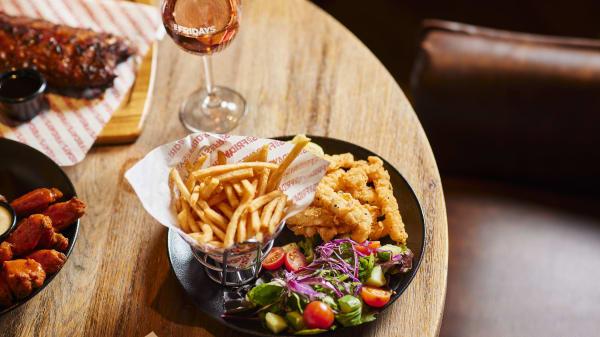 Calamari and Fries - TGI Fridays Marion, Oaklands Park (SA)