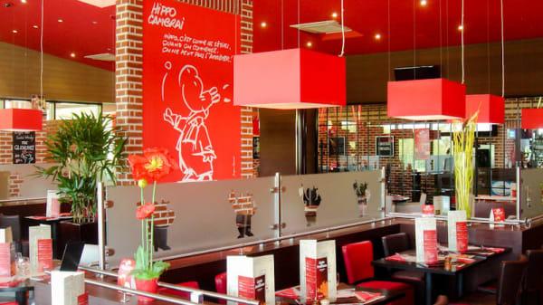 La salle du restaurant - La table de Cambrai, Cambrai