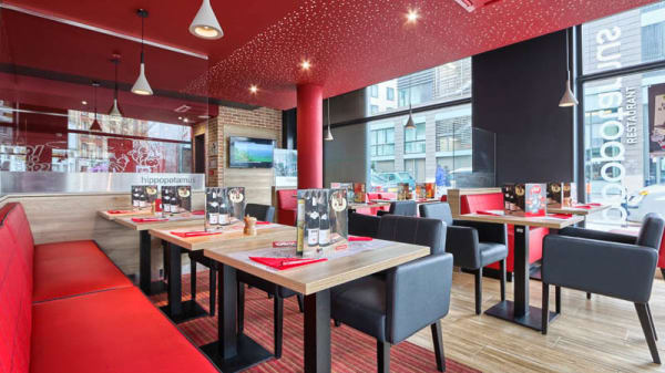 Salon du restaurant - Hippopotamus Saint-Denis, Saint-Denis