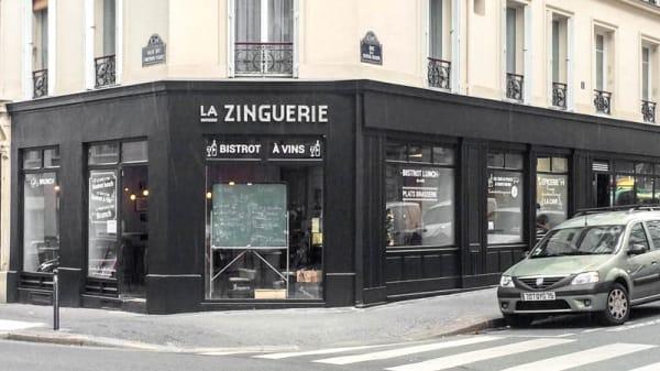 Le 95 rue du Chemin Vert - La Zinguerie, Paris