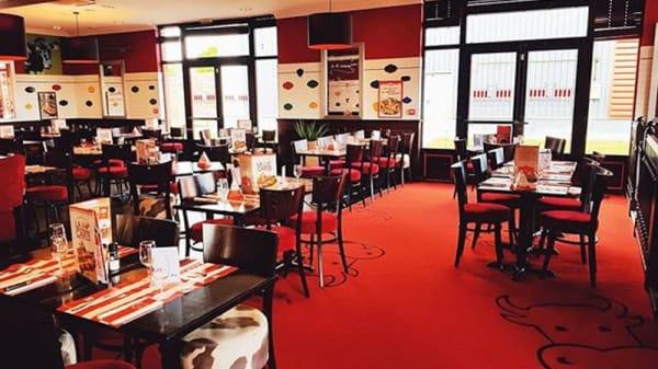 Salle du restaurant - La Boucherie - Bruay-la-Buissière, Bruay-la-Buissière