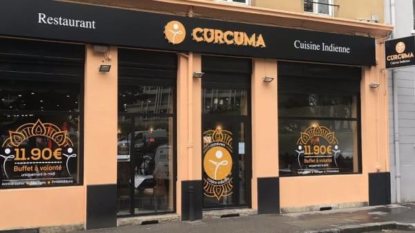 facade - Curcuma, Villeurbanne