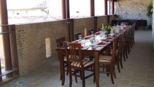 tavolo esterno - Colle di Costa, Labro