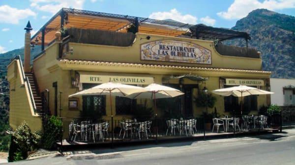 Vista entrada - Las Olivillas, Guejar Sierra