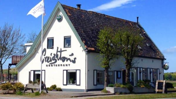Ingang - Creightons restaurant, Egmond aan Den Hoef