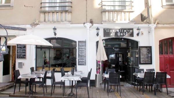 Entrée - Une Affaire de Goût, Nantes