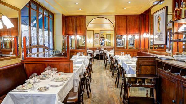 Vue de la salle - Chez Georges Paris Porte Maillot, Paris
