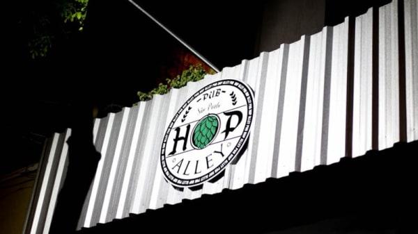 Entrada - Hop Alley Pub, São Paulo