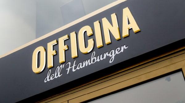 Entrata - Officina dell'Hamburger, Legnano
