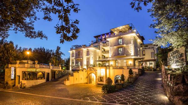Ristorante Bellavista @Hotel Castel Vecchio (Entrata/Entrance) - Ristorante Bellavista - Hotel Castel Vecchio, Castel Gandolfo