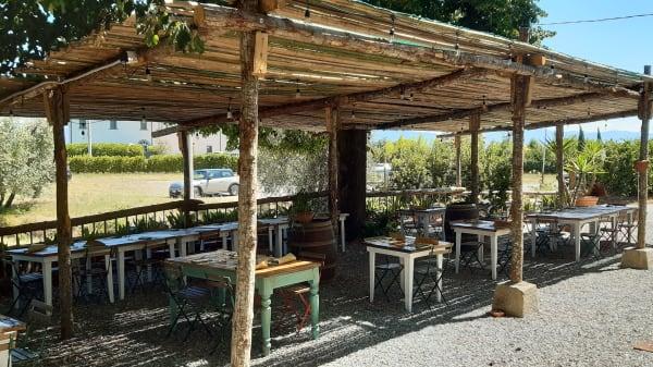 terrazza - La Costaglia Osteria Agricola, Forrottoli