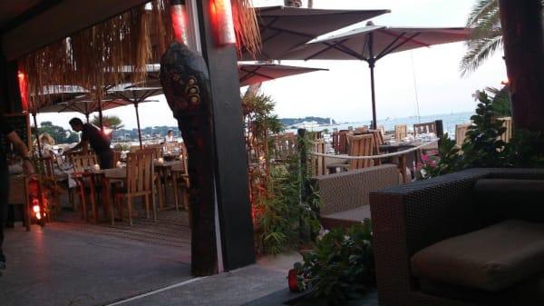 Restaurant - Hélios Plage, Juan-les-Pins