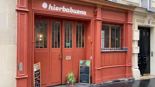Entrée - Hierba Buena, Paris
