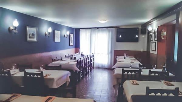 Vista sala - Hostal de Pagès, Olot