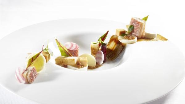 Paling met appel en appelstroop - De Keuken van Arragon, Fluitenberg