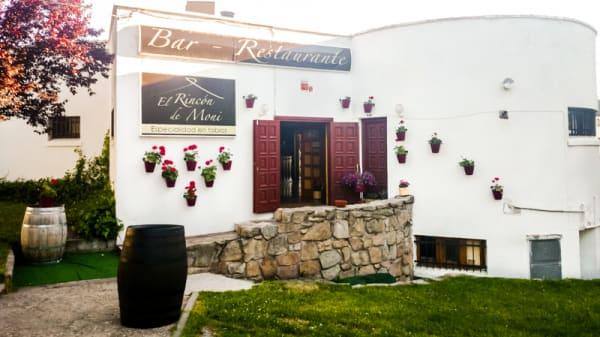 Entrada - El Rincón de Moni, Guadarrama