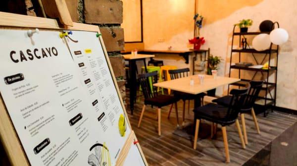 Vista del interior - Cascayo artisanal burgers, Barcelona