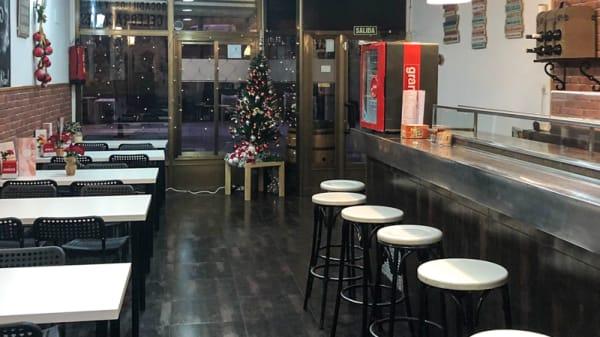 Sala del restaurante - El Porche, Zaragoza