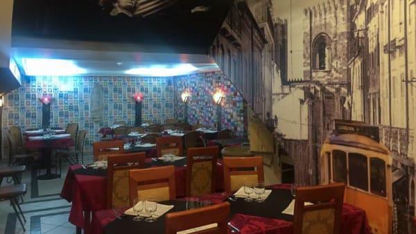 sala do restaurante - Casa de Fados Ti Jorge, Lisbon