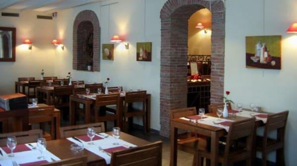 Salle du restaurant - La Ruota, Carouge
