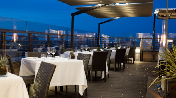 Terrazza - Quartopiano Suite Restaurant, Rimini