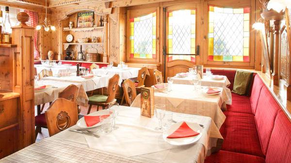 table dressée - Restaurant  du Fromage, Malbuisson